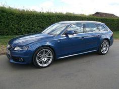 Used Audi A4 2.0 Tdi 143 S Estate Blue 2009 Diesel for Sale in UK