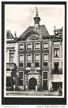 Breda - Grote Markt - Bredaas Museum - voormalige Boterhal.
