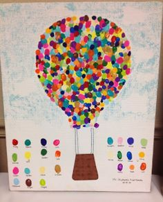winter fingerprint class art - Google Search