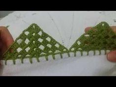 Crochet Edging Patterns, Crochet Borders, Filet Crochet, Crochet Flowers, Crochet Lace, Patricia Ferreira, Saree Tassels, Crochet Videos, Chrochet