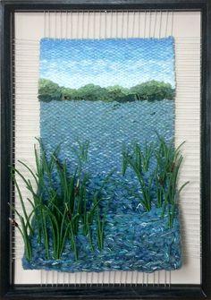 Martina Celerin Dimensional Weavings - Gallery - Heading For Open Water