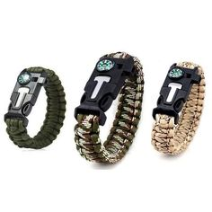 A set of 3 BlackOps Paracord Survival Bracelets are always a great gift for a loved one! Survival Bracelets, Paracord, Happy Shopping, Great Gifts, Campaign, Christmas Gifts, Content, Medium, Xmas Gifts
