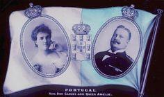 Família Real Portuguesa: ANIVERSÁRIOS DO REI DOM CARLOS E DA RAINHA DONA AMÉLIA