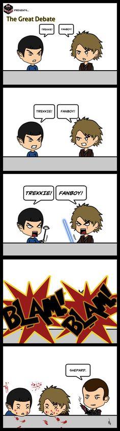Witzige Mass Effect Fanart/Comics