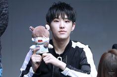 I like that doll. but I want you hoshi 😍 Woozi, Wonwoo, Jeonghan, Morning Rain, Sunday Morning, Hoshi Seventeen, Kawaii Doll, Aesthetic Beauty, Happy Pills