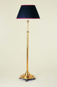 F2-006 - Smartie Major Standard Floor Lamp  with Claw Feet