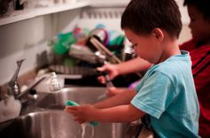 Chores and Character for Children #parenting