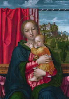 Francesco Morone - The Virgin and Child