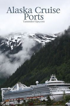 Are you heading out on an Alaska Cruise or dreaming of one? Check out these amazing Alaska Cruise Ports! Each Alaska Cruise Port has something new and fun to offer during your cruise. Cruise Port, Cruise Travel, Cruise Vacation, Dream Vacations, Vacation Spots, Cruise Ships, Disney Cruise, Travel Money, Romantic Vacations