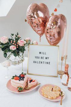 Diy Valentine's Day Decorations, Valentines Day Decorations, Bridal Shower Decorations, Decor Ideas, Brunch Party Decorations, Decor Diy, San Valentin Ideas, Saint Valentin Diy, Valentinstag Party