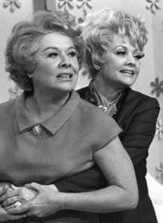 Vivian Vance and Lucille Ball Best Friends