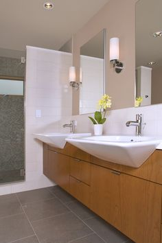 Liberty Lake Residence - contemporary - bathroom - seattle - Masterson Studio