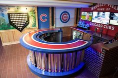 Turning Your Basement into the Ultimate Man Cave Can Be Fun - Man Cave Home Bar Basement Bar Plans, Basement Bar Designs, Man Cave Basement, Man Cave Garage, Basement Remodeling, Basement Ideas, Cozy Basement, Rustic Basement, Basement Gym