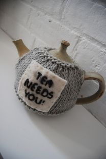 You can purchase this pattern as part of an 8 page pattern booklet in single sheet format which includes three striking tea cosy designs based around the Prostate Cancer logo and Tea For Victory slogans and theme. Knitting For Charity, Tea Cosies, How To Make Tea, Need You, Creative Crafts, Tea Pots, Ravelry, Pattern, Model