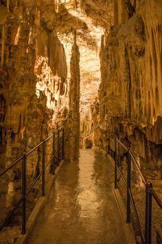 Postojna Cave, Slovenia. Explore Europe's most expansive caving system: http://www.roughguides.com/article/inside-europes-most-expansive-cave-system/
