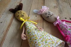 Velikonoční zajíčci z vařeček - Vyzkoušejte si s dětmi vyrobit jednoduché zajíčky z vařeček. ( DIY, Hobby, Crafts, Homemade, Handmade, Creative, Ideas)
