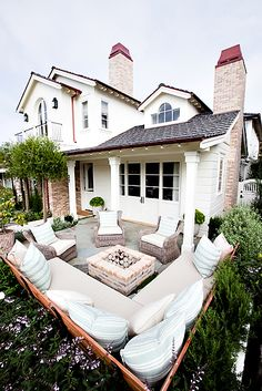 Outdoor living area.
