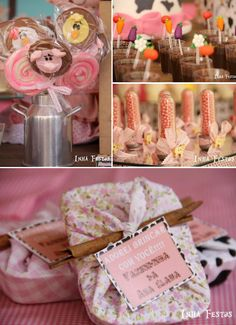 Cowgirl/Farm Themed Birthday Party via Karas Party Ideas #girlsbirthday #cowgirltheme #farmtheme