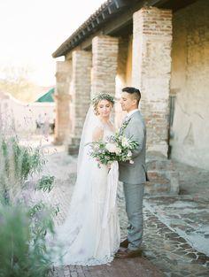 Ruffled - photo by Mallory Dawn Photography https://ruffledblog.com/high-school-sweetheart-wedding-in-california