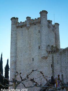 Castillo de Torija. Torre del Homenaje. Torija Castle .Tower of Homage.