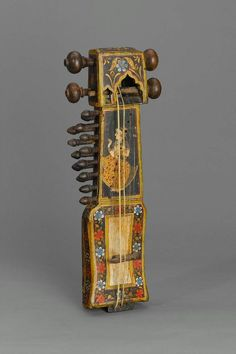 Fiddle (sindhi sarangi), 19th century Asia