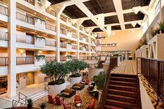 Hilton Stockton Lobby - Stockton, CA