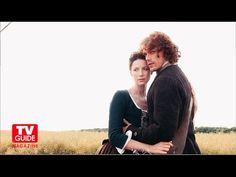 Outlander's Caitriona Balfe and Sam Heughan Cover Shoot! TV Guide Magazine! - YouTube