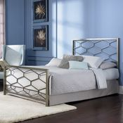 Camden Iron Bed by Fashion Bed Group   Wrought Iron Complete Headboard Footboard Frame Bed, $409
