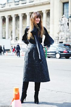 Paris_Fashion_Week_Fall_14-Street_Style-PFW-_Chanel-Caroline_De_Maigret-1 por collagevintageblog, a través de Flickr