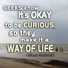 Blog post about curiosity. Thought provoking.
