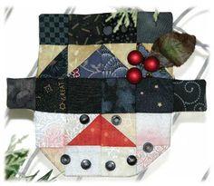 Happy Hollow Designs: SNOWMAN ESPRESSO FABRIC KIT