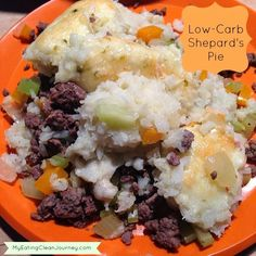 Low-Carb Shepard's Pie