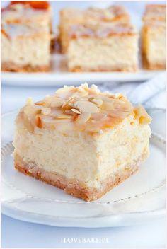 Russian cheesecake - I Love Bake Polish Cake Recipe, Polish Recipes, Breakfast Menu, Cheesecake Recipes, Cheesecakes, Good Food, Food And Drink, Vanilla Cake, Cupcakes