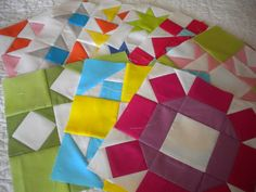 A Quilting Life: Solids Along - Using Bella Solids!