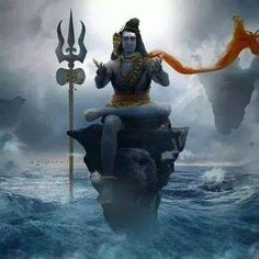 The most famous incarnations of Shiva are the meditator, the blessing (the karma yogi), the ego sacrificer (subordinated under the goddess Kali/under the will of God) and the dancer with the life (Nataraja).He lives his life with the qualities of earth (associated with Brahma, happiness), fire (associated with Rudra, power), water (associated with Vishnu, love), air (associated with Muni, wisdom) and ether (associated with all that exist, space,transcendence)!