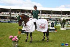 Épreuve n°08 | Jumping International La Baule  CSIO 5* Prix Générali - 1m45  Cian O'Connor est satisfait !