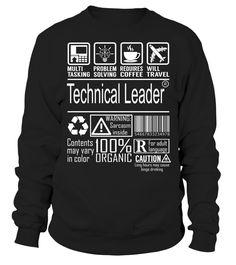 Technical Leader Multitasking Job Title T-Shirt #TechnicalLeader