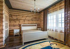 Деревянный дом из оцилиндрованного бревна в коттеджном поселке   Дома из оцилиндрованного бревна   Журнал «Деревянные дома»