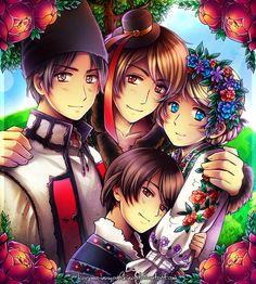 APH: Closest friends by Kagome-Inuyashkina.deviantart.com on @deviantART