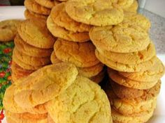 """just made snicker doodles with yellow cake mix...quick and easy! (i also added oats and raisins for a makeshift oatmeal raisin cookie to win good """"wifey"""" points)"""