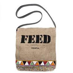 FEED 2 Kenya Messenger Bag - Feeds 2 children for 1 year. Lauren Bush, Jute Bags, Giving Back, Sweet Style, Kenya, Mini Bag, Bag Accessories, Messenger Bag, Great Gifts