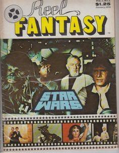 REEL FANTASY MAGAZINE VOL. 1 NO. 1, featuring Star War by #sciencefiction #movies http://www.amazon.com/dp/B0026935Y6/ref=cm_sw_r_pi_dp_vpCWtb0HGCV59ZZX