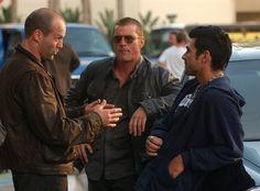 Jason Statham and Eric Etebari
