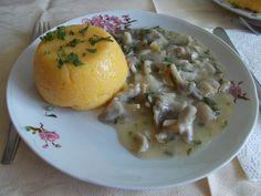 Reteta culinara Ciulama de ciuperci, de post din categoria Mancaruri de post. Specific Romania. Cum sa faci Ciulama de ciuperci, de post Foodies, Eggs, Chicken, Meat, Breakfast, Vegetarian, Homemade Food, Homemade, Mushroom