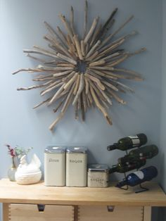 Driftwood Wreath I made... love!