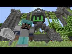 Minecraft (Xbox 360) - Cartoon Hyprim - Hunger Games - YouTube