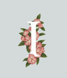 An A Z of Edible Flowers in Typography Floral Letters, Monogram Letters, Wallpaper Backgrounds, Iphone Wallpaper, Alphabet, Edible Flowers, Letter Art, Typography Design, Hand Lettering