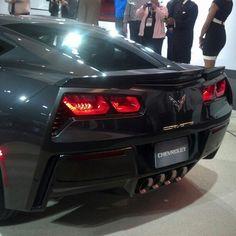 #corvette #stingray #DetroitAutoShow #NAIAS  Photo by tito_rosero