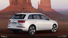 Uma SUV movido pelo motor V6 Turbo FSI, gerando impressionantes 333 cv de potência.  #AudiLovers #Love #AudiAutomóvel #AudiCenterBH #AudiQ7 #Q7