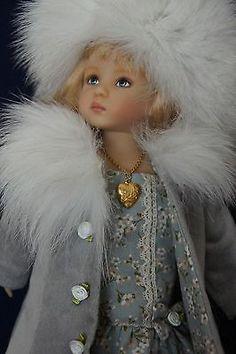 "Effner 13"" Little Darling Winter Fox Ensemble by Ladybugs Doll Designs OOAK | eBay. Sold 1/9/14 for $77.96"